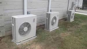 Mitsubishi Ductless Heat Pump Mitsubishi Mr Slim Ductless Heat Pump Hvac Units Youtube