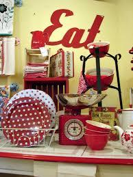 Red Retro Kitchen Accessories We Have A House Huckleberry Prairie