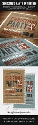 christmas party flyer invitation by makemediaco graphicriver christmas party flyer invitation holidays events