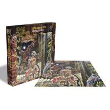<b>IRON MAIDEN</b> | <b>Somewhere</b> in time PUZZLE - Nuclear Blast