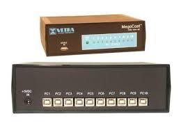 KVM 10-Port USB Kbrd/Mouse Multicaster USB-84A-BC – купить в ...
