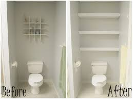small bathroom wall shelves ideas