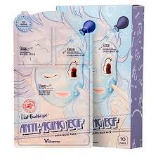 <b>Маска для лица</b> Elizavecca <b>3</b>-Step Anti-Aging EGF Aqua Mask Sheet