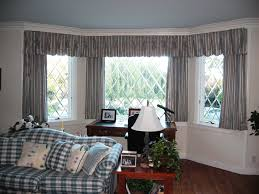 Curtain  For Bay Windows In Living Room
