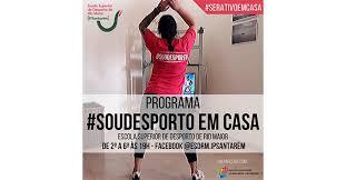 Escola Superior de Desporto de Rio Maior lança programa para promover prática de exercício em casa