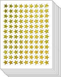 Stickers <b>Glitter</b> Pack 10 Sheets Stars Gold <b>Christmas Tree Cartoon</b> ...