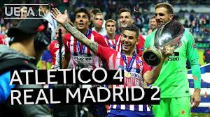 ATLÉTICO 4-2 <b>REAL MADRID</b>, UEFA SUPER CUP <b>2018</b> ...