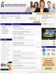 kan software portfolio high quality web site design web humana job portal