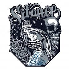 Free Vector | Chicano <b>tattoo style</b> concept