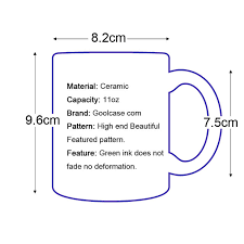 Ворон <b>лунный свет</b> кофейная <b>кружка</b> керамическая <b>чашка</b> цвет ...