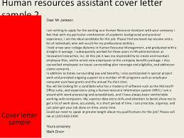 human resources assistant cover lettercover letter sample yours sincerely mark dixon    human resources assistant