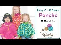 How To <b>Crochet</b> A Poncho: Easy <b>Kids</b> Poncho - YouTube
