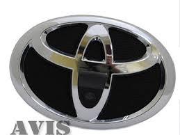 <b>CCD штатная камера</b> переднего вида Toyota (AVS324CPR #119 ...