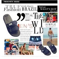 Summer <b>Men's Beach</b> Sandals <b>Lightweight</b> Non-slip Shoes Casual ...