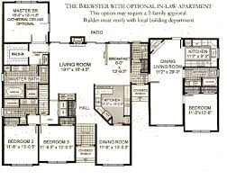 Ranches   The Brewster   Westchester Modular Homes  Inc the brewster   optional in law apartment