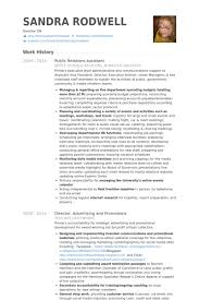 public relations assistant resume samples   visualcv resume    public relations assistant resume samples