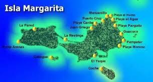 Resultado de imagen para isla margarita mapa