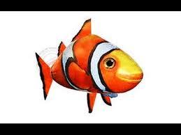 Игрушка надувная <b>радиоуправляемая</b> летающая <b>рыба</b> Flying ...