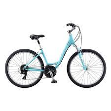 Женский <b>велосипед Schwinn Sierra</b> Women 2020, голубой, рама 16