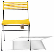 dining chair yellow