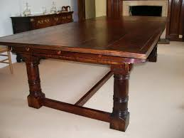 antique snooker dining amazing dark oak dining