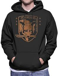 <b>Foxhound Special Forces</b> Group Metal Gear Solid Men's Hooded ...