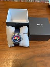 Timex x Space <b>Snoopy</b> - MK1 Steel 40mm Fabric Strap <b>Watch</b> for ...