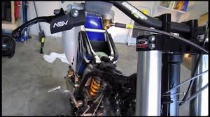 part installing throttle cable motion pro t throttle cable part 71 installing throttle cable motion pro t2 throttle cable yz250f example
