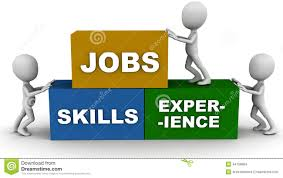 jobs skills and experience stock illustration image  jobs skills and experience