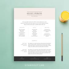 standout lab professionally designed resume features