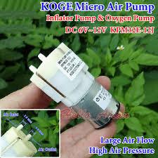 DC 6V-12V 9V Large Flow KOGE KPM32E <b>Micro Air Pump Oxygen</b> ...
