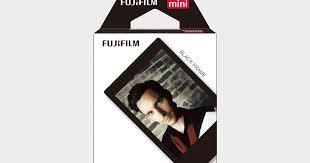 Fujifilm - <b>Fujifilm</b> - <b>Instax Mini Black</b> Border Film - Moment