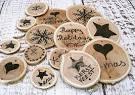 Новогодние игрушки своими руками из дерева