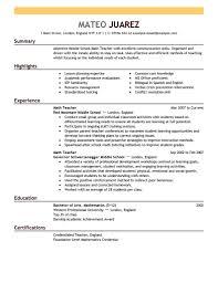 resume format for teachers objective acbb english teaching resume teachers cv samples esl teacher assistant resume sample english language arts teacher resume sample english teacher