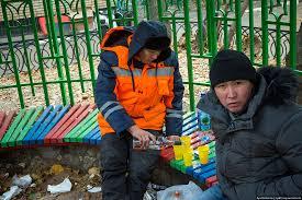 """""""Строители здесь живут. Строят дачу Путину"""", - детский лагерь """"Смена"""" возле Ялты оккупанты заселили рабочими и открыли на территории магазин с алкоголем - Цензор.НЕТ 8566"""