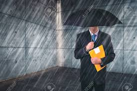 career assessment stock photos images royalty career career assessment insurance agent umbrella protecting from rain in urban outdoor setting risk