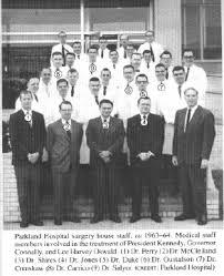 「Dallas' Parkland Hospital 1963」の画像検索結果