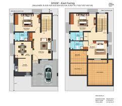 Villa Floor Plan X EF   BHK DUPLEX VILLA