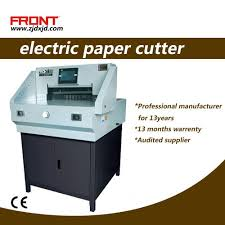 Electrical Paper Cutter 520 mm Size (<b>E520T</b>) Program Control ...