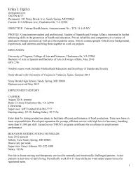 current resume samples cipanewsletter resume samples uva career center