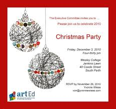 arted christmas party art education association of western flyer