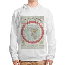 <b>Толстовка с полной</b> запечаткой Карта Плоской Земли #2312566 ...