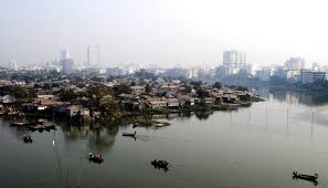 the reserve  archive of top scoring essays   berkeley prize essay    the lake separating karail slum from gulshan