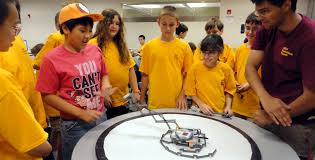 high school engineering education outreach high schoolers middot 2017 9up robotics camp
