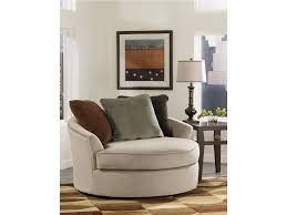 Modern Swivel Chairs For Living Room Furniture Buy Casheral Linen Oversized Swivel Accent Chair By