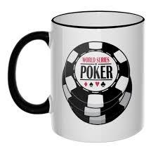 <b>Кружка World</b> Series of Poker с цветным ободком и ручкой - купить ...