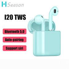 <b>I20 TWS</b> Earphones <b>Bluetooth 5.0</b> Earbuds Wireless Headphones ...