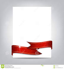 red christmas flyer royalty stock photo image 26470545 christmas flyer template paper banner red ribbon stock images