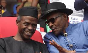 Image result for President Buhari, VP Osinbajo
