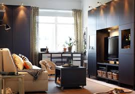 painted wall small living room ideas ikea